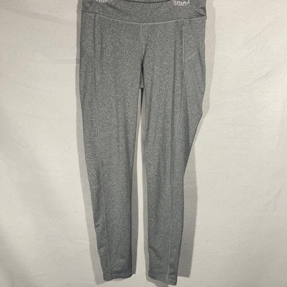NWOT Live Love Dream Gray leggings Sz M